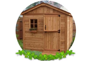 Sheds in Lingfield